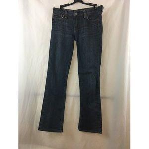 Lucky Brand Womens Straight Leg Blue Jeans Sz 6